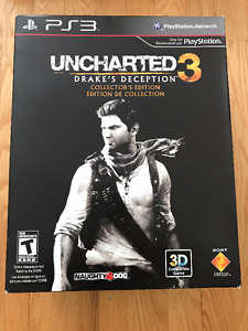 PS3 Uncharted 3 Collector's Edition