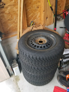 Snow tires from 2004 sunfire