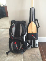 Dragon Boat Paddle with backpack