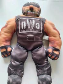 WCW Hollywood Hulk Hogan Plush Toy Doll