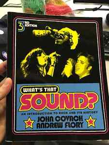 What's That Sound? 3rd Edition textbook by Covach & Flory