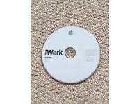 Apple iWork 09 install disc