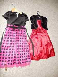 2 pretty party dresses in size 12