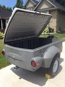 Pulmor 4x6 lightweight covered trailer