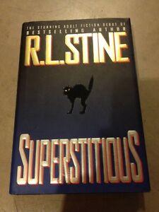 R L STINE - SUPERSTITIONS- $7.00