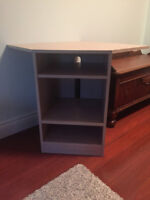 corner shelving unit/ TV stand/ electronic stand