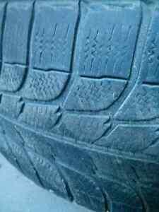 Set of 4 Michelin 245/70R16 tires on rims Windsor Region Ontario image 5
