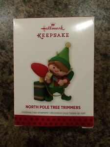 Christmas tree ornament North Pole Tree Trimmers (Hallmark)