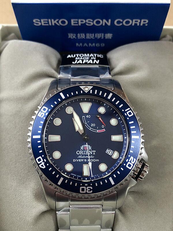 Orient Tauchen Uhr Ra-El0002l Herren in Box aus Japan