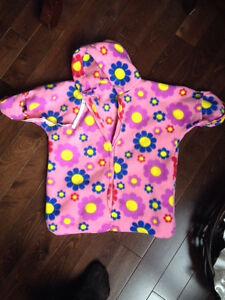 Fleece bunting bag