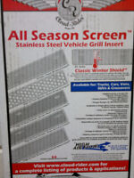 TOYOTA 4 RUNNER 2005/2008 STAINLESS STEEL SCREEN VEHICLE GRILL W