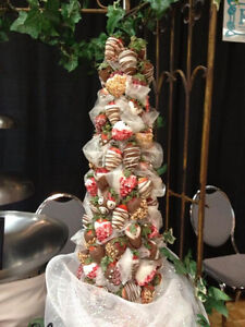 Chocolate fountain, crepes, Belgian waffles, fruit display/table Windsor Region Ontario image 5