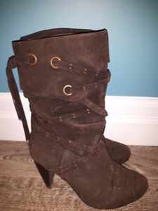 EUC- Brown boots