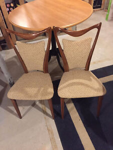 Vintage Chairs (2) Solid wood