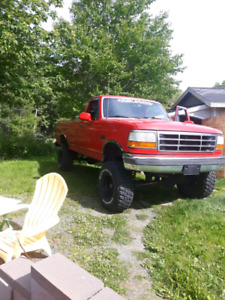 Lifted 1996 F150