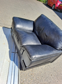 Sofa with one chair