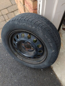 Corolla 4 Lug  Rim with Tire for Sale