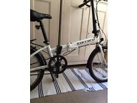 Carrera fold up bike £200