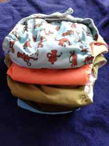 Couches lavables washable diapers