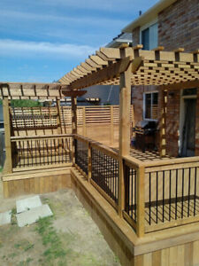 Deck, Fence, Pergola, Roof, Gazebo! TORONTO & GTA
