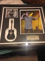 Authentic signed Justin bieber