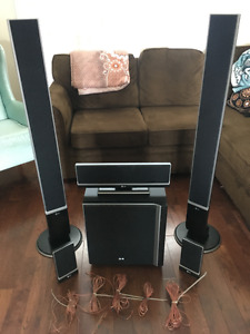 LG 5 DVD Changer Home Theatre System