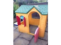Little Tikes outdoor playhouse for kids for sale- great condition very sturdy