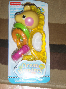 **Brand New**  Fisher Price Dumbell Rattle