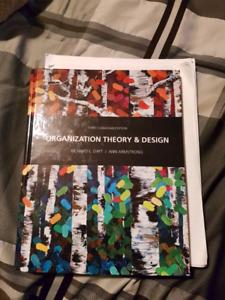 Organizational Theory textbook - mun