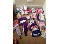 Baby Girls Newborn & 0-3month Bundle (86 items)