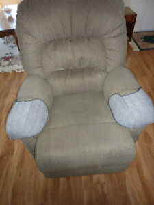 Very comfortable Swivel, Rocker, Recliner chair.