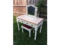 Up Cycled Solid Pine Dressing Table (Can Deliver)