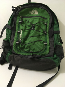 """17""""x12""""x5"""" The North Face Unisex Backpack: Green"""