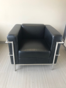 Sofa and chair - perfect for reception area!