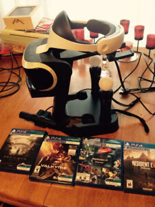 Sale: PSVR,Camera,Move Controllers,Charging Stand and 4 games