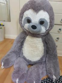 Large grey sloth