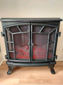 Stylish Electric Log Fire**MOVING HOUSE