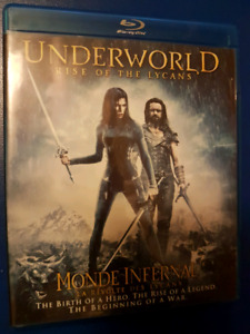 Underworld Rise of the Lycans Blu-Ray
