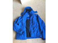 Fat Face warm waterproof coat size small