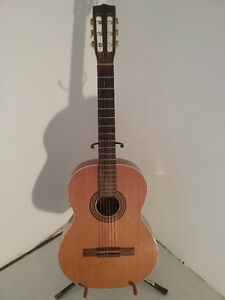 LaPatrie Collection QI Nylon/Electric Classical Guitar w Case