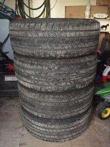 P275/55 r20 - M+S - Goodyear Wrangler SR-A tires - Price Reduced
