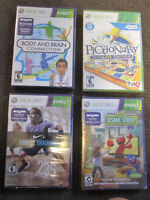 XBox 360 August Selection of Games - New, Sealed
