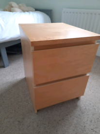 Bed side cabinets