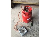 Gas tank - welder and stove