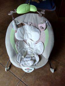 Fisher Price vibrating bouncy chair