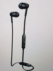PHILIPS In-Ear BLUETOOTH HEADPHONES WITH MIC