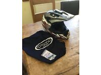 Motor cross THH TX-10 helmet (small) condition as new