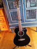 Tanglewood Guitar - (tanglewood tsf ce bk)