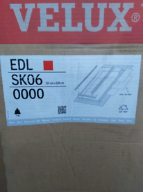 2 off Velux EDL SK06 flashing kits for slate roofs.