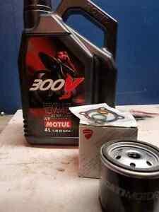 Ducati oil change kit for 1200